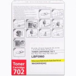 CANON TONER GIALLO 702Y 9642A004 ~6000 COPIE