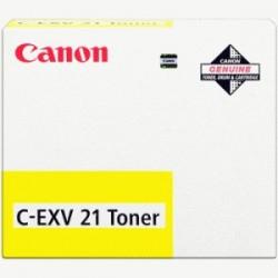 CANON TONER GIALLO C-EXV21Y 0455B002 14000 COPIE  ORIGINALE