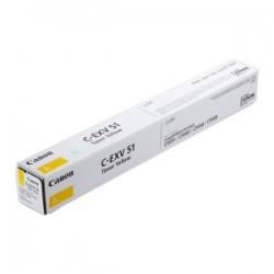 CANON TONER GIALLO C-EXV51Y 0484C002 60000 COPIE  ORIGINALE