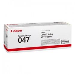 CANON TONER NERO 047 BK 2164C002 1600 COPIE ORIGINALE
