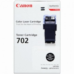 CANON TONER NERO 702BK 9645A004 ~10000 COPIE