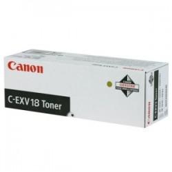 CANON TONER NERO C-EXV18 0386B002 8400 COPIE  ORIGINALE