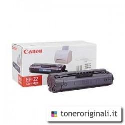 CANON TONER NERO EP-22 1550A003 2500 COPIE  ORIGINALE