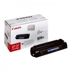 CANON TONER NERO EP-27 8489A002 2500 COPIE  ORIGINALE