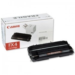 CANON TONER NERO FX-4 1558A003 4000 COPIE  ORIGINALE