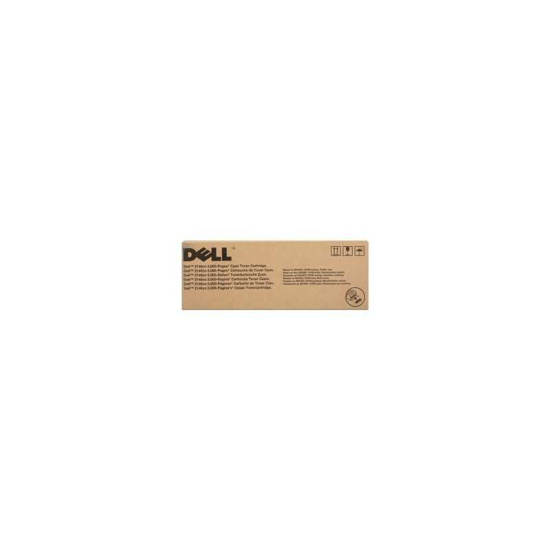 DELL TONER CIANO 593-10369 P587K 5500 COPIE ORIGINALE