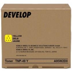DEVELOP TONER GIALLO A95W2D0 TNP-49 Y 12000 COPIE ORIGINALE
