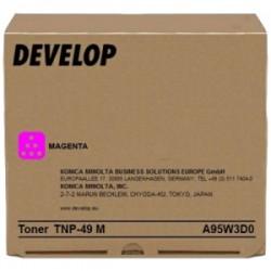 DEVELOP TONER MAGENTA A95W3D0 TNP-49 M 12000 COPIE ORIGINALE