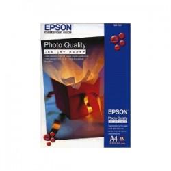 EPSON CARTA BIANCO C13S041061 PHOTO QUALITY 100 BLATT PHOTO QUALITÀ INK JET PAPER, DIN A4, 102 G/M², 100 PAGINE ORIGINAL