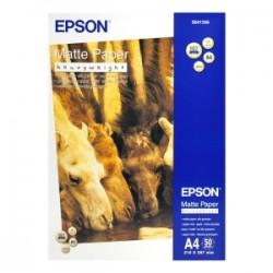 EPSON CARTA BIANCO C13S041256 MATTE PAPER 50 BLATT CARTA DA FOTO, DIN A4, 167 G/M², 50 FOGLI, OPACA ORIGINALE