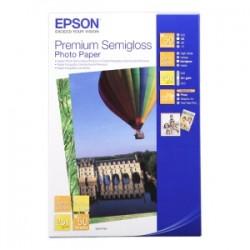 EPSON CARTA BIANCO C13S041765 PREMIUM SEMIGLOSS 50 BLATT CARTA FOTOGRAFICA, 10 X 15 CM, 251 G/M², 50 PAGINE, STYLUS PREM
