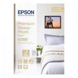 EPSON CARTA BIANCO C13S042155 PREMIUM GLOSSY CARTA FOTOGRAFICA, DIN A4, 15 FOGLI, 255 G/M², PREMIUM GLOSSY ORIGINALE