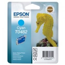 EPSON CARTUCCIA D\'INCHIOSTRO CIANO C13T04824010 T0482 13ML  ORIGINALE