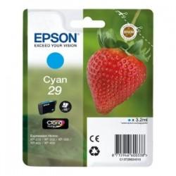 EPSON CARTUCCIA D\'INCHIOSTRO CIANO C13T29824012 T2982 180 COPIE 3.2ML C13T29824010 ORIGINALE