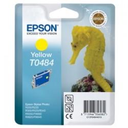 EPSON CARTUCCIA D\'INCHIOSTRO GIALLO C13T04844010 T0484 13ML  ORIGINALE