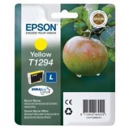 EPSON CARTUCCIA D\'INCHIOSTRO GIALLO C13T12944012 T1294 470 COPIE 7ML  ORIGINALE