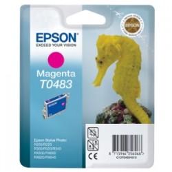 EPSON CARTUCCIA D\'INCHIOSTRO MAGENTA C13T04834010 T0483 13ML  ORIGINALE