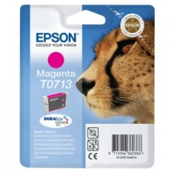 EPSON CARTUCCIA D\'INCHIOSTRO MAGENTA C13T07134012 T0713 250 COPIE 5.5ML  ORIGINALE