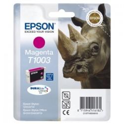 EPSON CARTUCCIA D\'INCHIOSTRO MAGENTA C13T10034010 T1003 625 COPIE 11.1ML  ORIGINALE