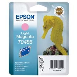EPSON CARTUCCIA D\'INCHIOSTRO MAGENTA CHIARA C13T04864010 T0486 13ML  ORIGINALE