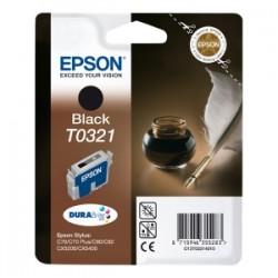 EPSON CARTUCCIA D\'INCHIOSTRO NERO C13T03214010 T0321 33ML