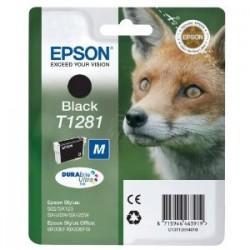 EPSON CARTUCCIA D\'INCHIOSTRO NERO C13T12814012 T1281 170 COPIE 5.9ML  ORIGINALE