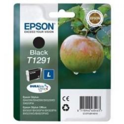 EPSON CARTUCCIA D\'INCHIOSTRO NERO C13T12914012 T1291 385 COPIE 11.2ML  ORIGINALE