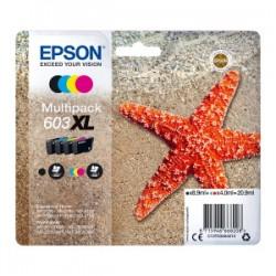 EPSON MULTIPACK NERO / CIANO / MAGENTA / GIALLO C13T03A64010 603XL ORIGINALE