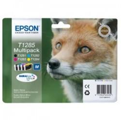EPSON MULTIPACK NERO / CIANO / MAGENTA / GIALLO C13T12854012 T1285 4 CARTUCCE D\'INCHIOSTRO: T1281 + T1282 + T1283 + T128
