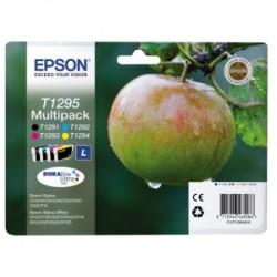 EPSON MULTIPACK NERO / CIANO / MAGENTA / GIALLO C13T12954012 T1295 4 CARTUCCE D\'INCHIOSTRO: T1291 + T1292 + T1293 + T129