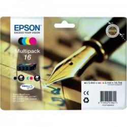 EPSON MULTIPACK NERO / CIANO / MAGENTA / GIALLO C13T16264012 T1626 4 CARTUCCE D\'INCHIOSTRO: T1621 + T1622 + T1623 + T162
