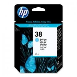 HP CARTUCCIA D\'INCHIOSTRO CIANO (CHIARO) C9418A 38 27ML CARTUCCIE D´INCHIOSTRO
