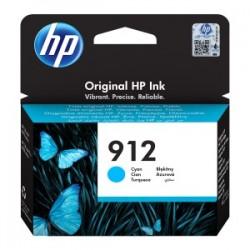 HP CARTUCCIA D\'INCHIOSTRO CIANO 3YL77AE 912 315 COPIE  ORIGINALE
