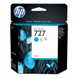 HP CARTUCCIA D\'INCHIOSTRO CIANO B3P13A 727 40ML