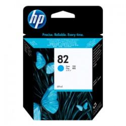 HP CARTUCCIA D\'INCHIOSTRO CIANO C4911A 82 69ML  ORIGINALE