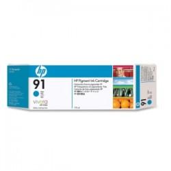 HP CARTUCCIA D\'INCHIOSTRO CIANO C9467A 91 775ML  ORIGINALE