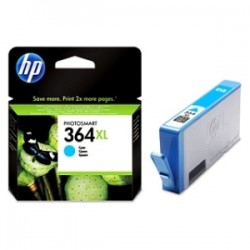 HP CARTUCCIA D\'INCHIOSTRO CIANO CB323EE 364 XL 750 COPIE 7.5ML  ORIGINALE