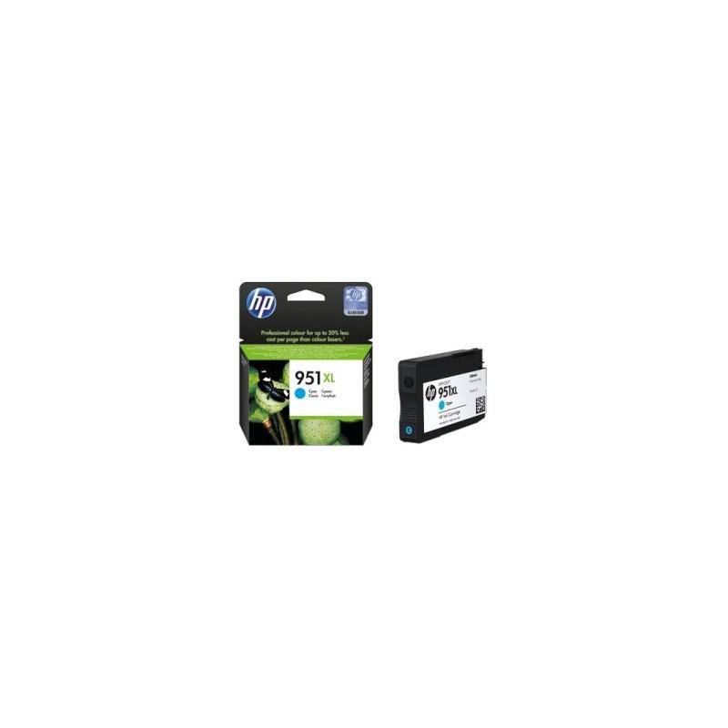 HP CARTUCCIA D\'INCHIOSTRO CIANO CN046AE 951 XL 1500 COPIE 24ML  ORIGINALE