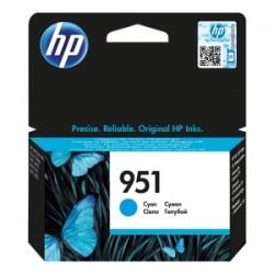 HP CARTUCCIA D\'INCHIOSTRO CIANO CN050AE 951 700 COPIE  ORIGINALE