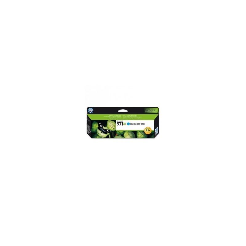 HP CARTUCCIA D\'INCHIOSTRO CIANO CN626AE 971 XL 6600 COPIE  ORIGINALE