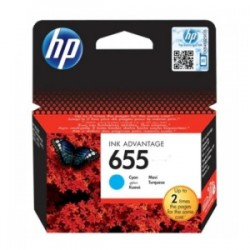 HP CARTUCCIA D\'INCHIOSTRO CIANO CZ110AE 655 600 COPIE  ORIGINALE