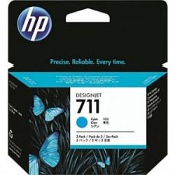 HP CARTUCCIA D\'INCHIOSTRO CIANO CZ130A 711 29ML STANDARD ORIGINALE