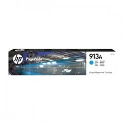 HP CARTUCCIA D\'INCHIOSTRO CIANO F6T77AE 913A 3000 COPIE  ORIGINALE