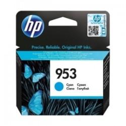 HP CARTUCCIA D\'INCHIOSTRO CIANO F6U12AE 953 700 COPIE  ORIGINALE