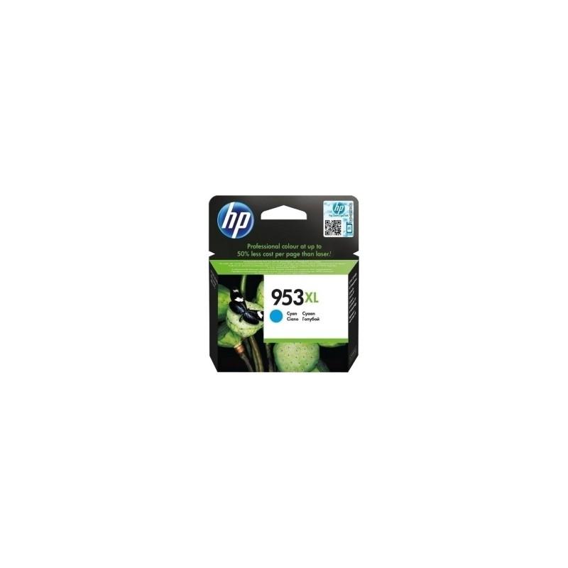 HP CARTUCCIA D\'INCHIOSTRO CIANO F6U16AE 953 XL 1600 COPIE  ORIGINALE