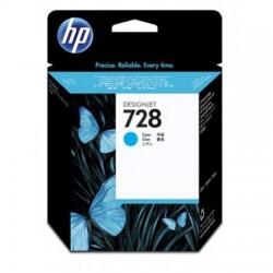 HP CARTUCCIA D\'INCHIOSTRO CIANO F9J63A 728 40ML  ORIGINALE