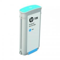HP CARTUCCIA D\'INCHIOSTRO CIANO F9J67A 728 130ML  ORIGINALE