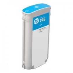 HP CARTUCCIA D\'INCHIOSTRO CIANO F9J97A 745 130ML  ORIGINALE