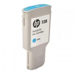 HP CARTUCCIA D\'INCHIOSTRO CIANO F9K17A 728 300ML  ORIGINALE