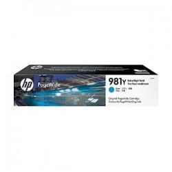 HP CARTUCCIA D\'INCHIOSTRO CIANO L0R13A 981Y 16000 COPIE  ORIGINALE